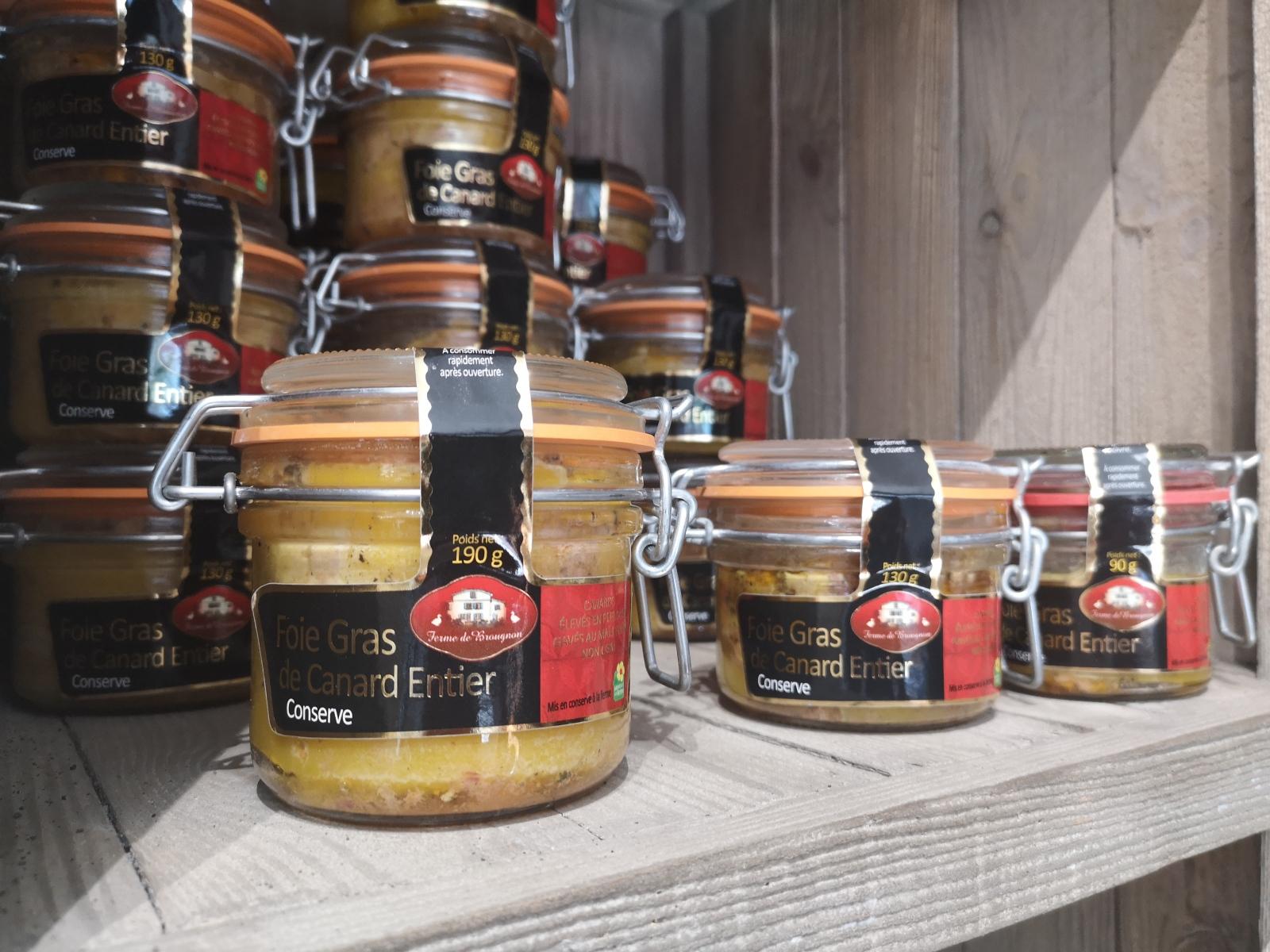 Les foies gras Ferme Brougnon