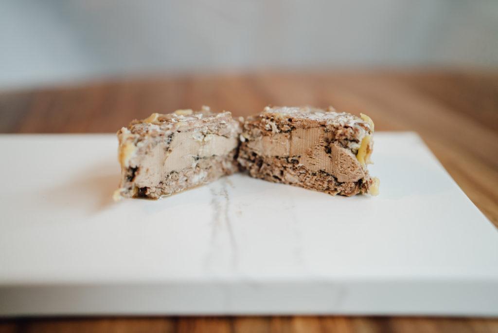 Pâté de prince noir de biscay au foie gras